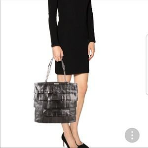 Kate Spade Bronze Metallic Leather Shoulder Bag